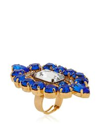 Halaby | Blue Flamingo Ring | Lyst