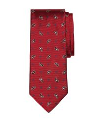 Brooks Brothers - Red Toss Pine Tie for Men - Lyst