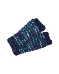 Steve Madden - Blue Taste The Rainbow Glove - Lyst