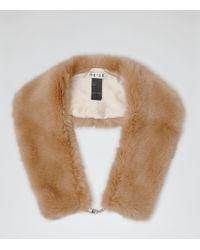 Reiss - Pink Pixie Faux-fur Stole - Lyst