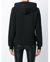 DIESEL - Black 'f-milky' Zipped Hoodie - Lyst