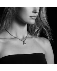 David Yurman | Metallic Albion Pendant With Champagne Citrine And Diamonds With 18k Gold, 11mm | Lyst