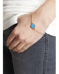 Marc By Marc Jacobs | Metallic Turquoise Enamel Disc Bracelet | Lyst