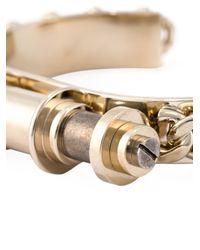 Givenchy   Metallic 'obsedia' Bracelet   Lyst