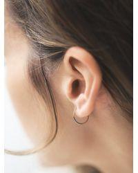Free People - Metallic Melissa Joy Manning Womens Gold Ear Hugging Hoops - Lyst