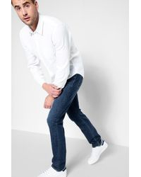 7 For All Mankind - Blue Luxe Performance The Slimmy In Voyage for Men - Lyst