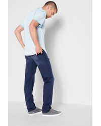 7 For All Mankind - Blue Luxe Sport Slimmy Slim In Reservoir for Men - Lyst