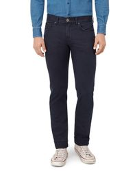 7 For All Mankind - Blue Kayden With Embellishment Special Editions Navy for Men - Lyst