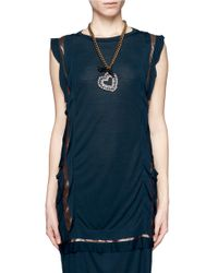 Lanvin | Black Kristin Necklace | Lyst
