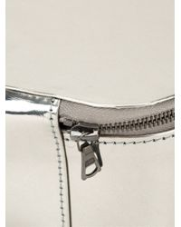 Isaac Reina | Metallic Zipped Beauty Case | Lyst