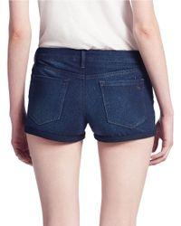 Jessica Simpson | Blue Forever Roll-Cuff Denim Shorts | Lyst