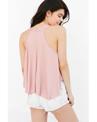 Kimchi Blue - Pink Florence Tank Top - Lyst