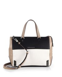 Marc By Marc Jacobs - White Sheltered Island Colorblock Satchel - Lyst
