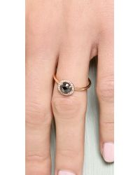 Blanca Monros Gomez | Metallic Rose Cut Diamond Solitaire Ring | Lyst