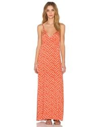 Clayton - Orange Marcy Dress - Lyst