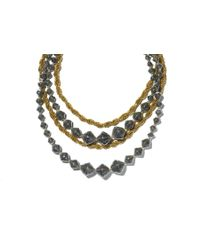 TOMS - Metallic Pippa Necklace - Lyst