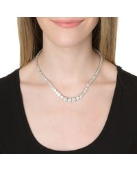 Kenneth Jay Lane | Metallic Delicate Strand Necklace | Lyst