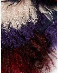 ASOS - Multicolor Mongolian Chevron Collar - Lyst