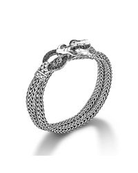 John Hardy - Metallic Classic Chain Sterling Silver Multiple Coil Bracelet - Lyst