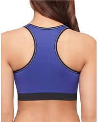 Yummie By Heather Thomson | Blue Chelsea Reversible Sports Bra | Lyst