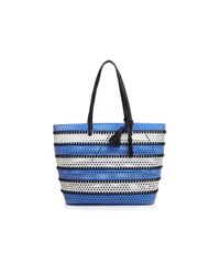 Loeffler Randall - Multicolor Perforated Beach Tote - Lyst