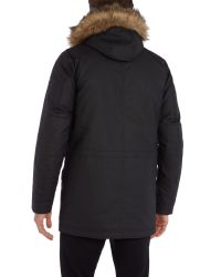 Duck and Cover | Black Enforce Down Filled Arctic Parka Coat for Men | Lyst