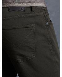 John Varvatos - Purple Cotton Coated Wight Jean for Men - Lyst