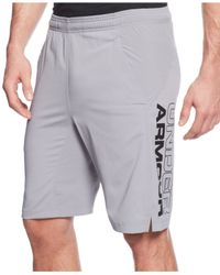 Under Armour | Green Men's Hiit Woven Performance Shorts for Men | Lyst