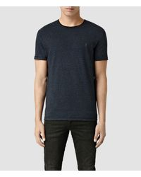 AllSaints | Blue Colton Baltis Crew T-shirt for Men | Lyst