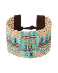 Chan Luu - Blue Bracelet - Lyst