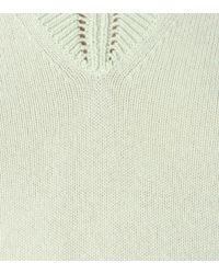 Burberry Prorsum - Green Cashmere-blend Sweater - Lyst
