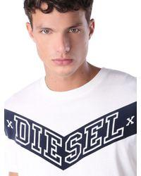 DIESEL - White T-joe-ag for Men - Lyst