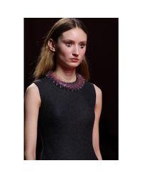 Mary Katrantzou - Pink Ruffled Transparent Necklace - Lyst