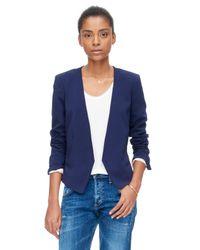 Rebecca Taylor Blue Devon Jacket