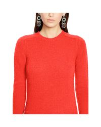 Polo Ralph Lauren | Pink Wool-cashmere Sweater | Lyst