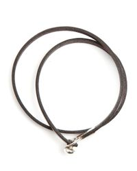 Gilbert Gilbert | Joseph 18 Brown Bracelet for Men | Lyst