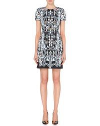 Peter Pilotto | Black Rook Stretch-crepe Dress | Lyst