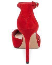 Jessica Simpson | Red Pixxel T-strap Pumps | Lyst