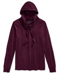 American Rag | Purple New Vision Hoodie for Men | Lyst