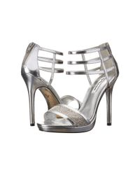 Nina - Metallic Fable High Heel Sandals - Lyst