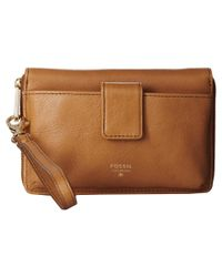 Fossil | Natural Phone Wristlet | Lyst
