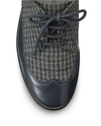 Aerosoles | Blue Accomplishment Leather Oxfords | Lyst