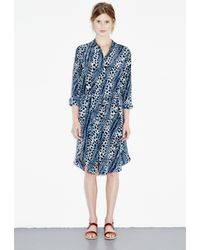 M.i.h Jeans - Blue Channel Shirt Dress - Lyst