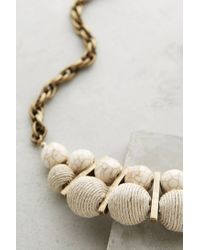 Anthropologie | Natural Palois Bib Necklace | Lyst