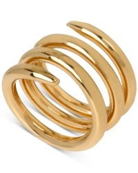 Robert Lee Morris | Metallic Bronze-tone Spiral Ring | Lyst
