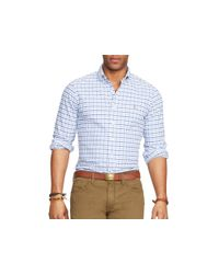Ralph Lauren - Blue Polo Oxford Classic Fit Button Down Shirt for Men - Lyst