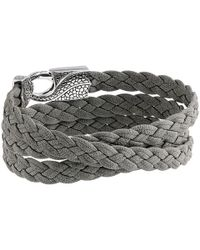 Stephen Webster | Gray Rayman Multi Wrap Rayskin Leather for Men | Lyst