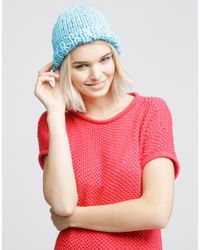 Wool And The Gang | Blue Buffalo Beanie | Lyst