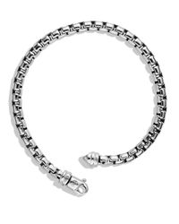 David Yurman | Metallic Large Box Chain Bracelet for Men | Lyst