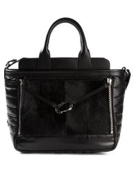 Moncler - Black Padded Tote - Lyst